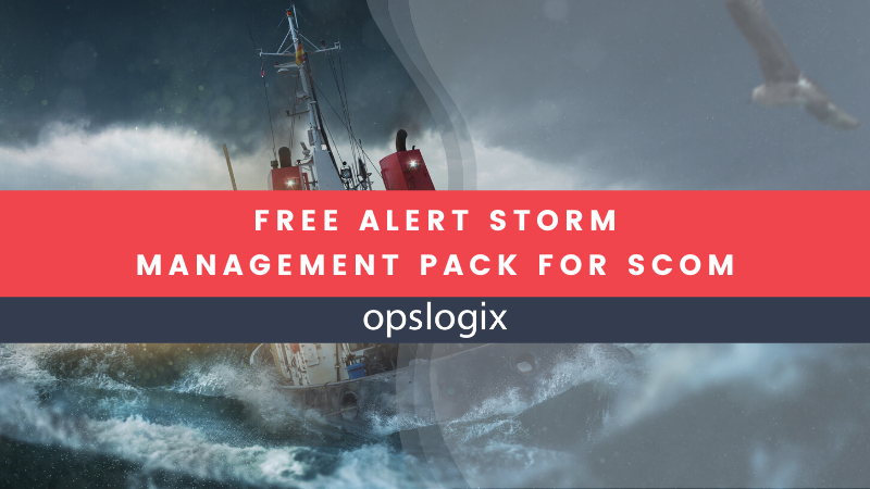 New free community MP: Alert Storm Management Pack